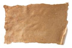 Постаретая текстура коричневой бумаги Стоковое Изображение RF