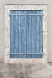 Постаретое закрынное окно Стоковые Изображения RF