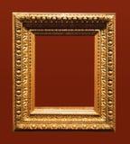 постаретое изображение фото рамки золотистое Стоковое Фото
