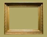 постаретое изображение фото рамки золотистое Стоковые Изображения RF