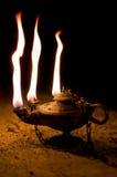 постаретое масло светильника Стоковое фото RF