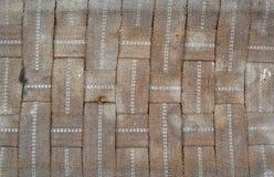 Постаретое место ткани Стоковая Фотография
