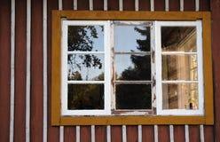 постаретое окно Стоковое Изображение RF