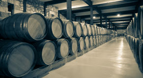 Постаретое фото винодельни Стоковые Изображения RF