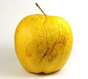 постаретое яблоко Стоковая Фотография
