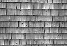 Постаретые гонт дома Стоковая Фотография