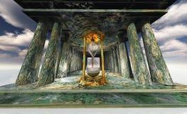 постаретый висок hourglass Стоковые Фото