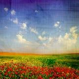 постаретый ландшафт Стоковые Фотографии RF