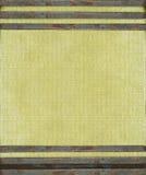 постаретый металл холстины штанг ржавый Стоковое Изображение RF