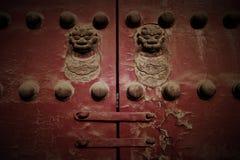 постаретый тип китайского строба старый Стоковая Фотография