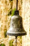 Постаретый церковный колокол Стоковые Фото