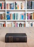 Постаретый экземпляр полного собрания сочинений Шекспир Стоковые Фотографии RF