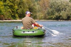 постаретый rowing пар средний Стоковое Изображение RF