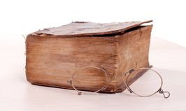 Постаретый storybook Стоковая Фотография