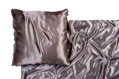 постельные белья satiny стоковое фото