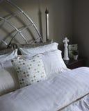 Постельные бель и случаи подушки Стоковая Фотография