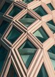 Построение с фасадом Diagrid стоковые изображения