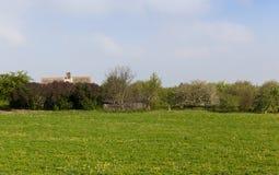 Построенная ферма Стоковые Изображения RF