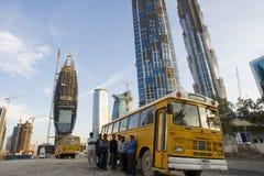 построенные люди Дубай которые Стоковое Изображение