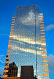 Построенный в небо Стоковое Изображение RF