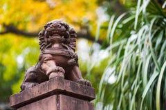 1189 построенный камень льва династии e i jin фарфора китайский был летами Стоковое Изображение