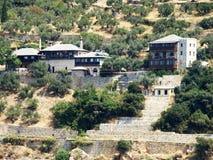 Построенный на побережье в Греции Стоковые Фото