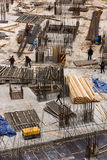 Построители на здании занятый Стоковые Фото