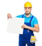 Построитель - рабочий-строитель Стоковое Фото