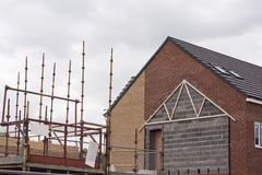 Построьте новый дом Стоковое Фото