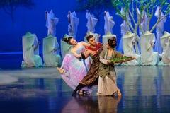 Поступок семьи радостный- первый: ` драмы танца шелковицы ` принцессы сад-былинного Silk Стоковые Фото