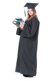 Постдипломный студент девушки Стоковые Изображения RF