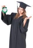 Постдипломный студент девушки Стоковое Фото