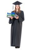 Постдипломный студент девушки Стоковая Фотография