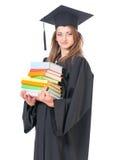 Постдипломный студент девушки Стоковые Фото
