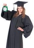 Постдипломный студент девушки Стоковая Фотография RF