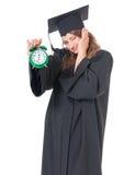 Постдипломный студент девушки Стоковое Изображение