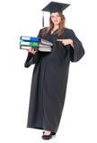 Постдипломный студент девушки Стоковое фото RF