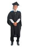 Постдипломный студент университета во всю длину стоковое изображение rf