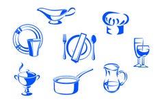 Посуда кухни Стоковые Изображения RF