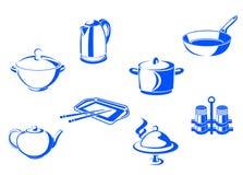 Посуда кухни Стоковая Фотография RF