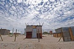 посёлок Африки Стоковая Фотография