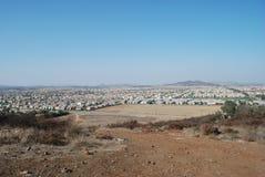 посёлок стоковое изображение
