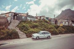 Посёлок Houtbay Imizamu Yethu Стоковая Фотография
