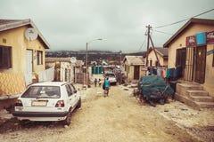 Посёлок Houtbay Imizamu Yethu Стоковое Изображение RF
