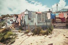 Посёлок Houtbay Imizamu Yethu Стоковые Изображения RF