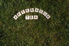 Послеполуденный чай Стоковые Фотографии RF