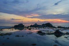 После захода солнца Стоковые Изображения