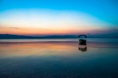 После захода солнца Стоковые Изображения RF