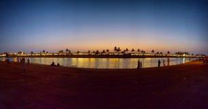 После захода солнца Стоковое Фото