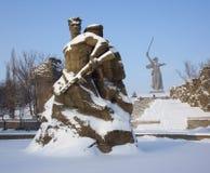 Последнее сражение на Реке Волга Стоковые Изображения RF